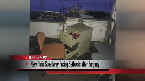 New Paris Speedway facing setbacks after burglary